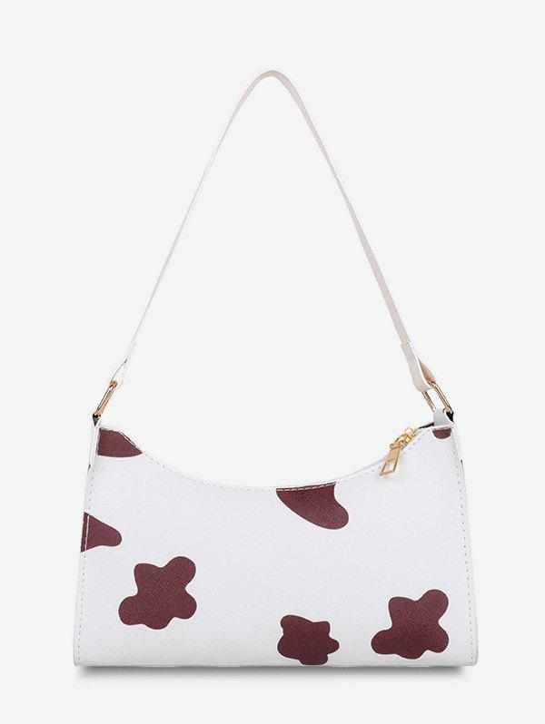 Outfits French Style Cow Spot Print Shoulder Bag