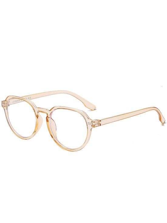 Affordable Brief Anti Blue-ray Round Glasses