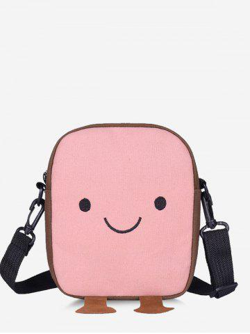 Lovely Smiling Face Crossbody Bag