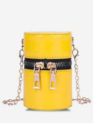 Cylinder Chain Micro Crossbody Bag -