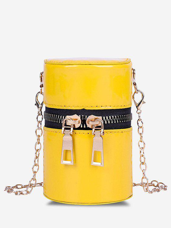 Outfits Cylinder Chain Micro Crossbody Bag