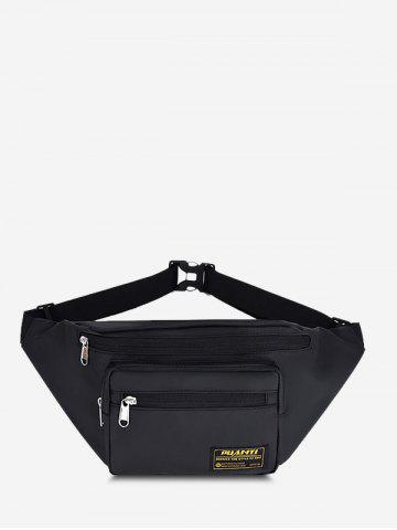 Casual Letter Label Outdoor Waist Bag
