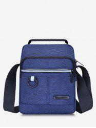 Casual Business Multi-function Zippers Shoulder Bag -