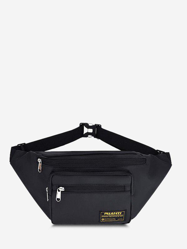 Shops Casual Letter Label Outdoor Waist Bag
