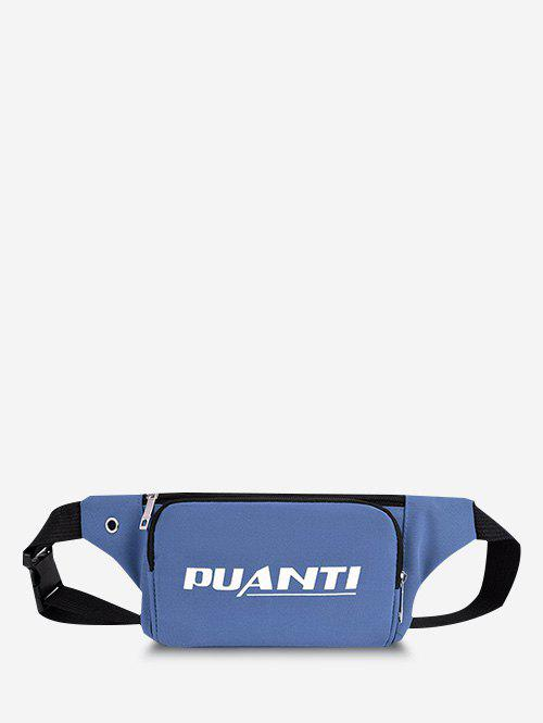 New Casual Letter Printed Sports Chest Waist Bag