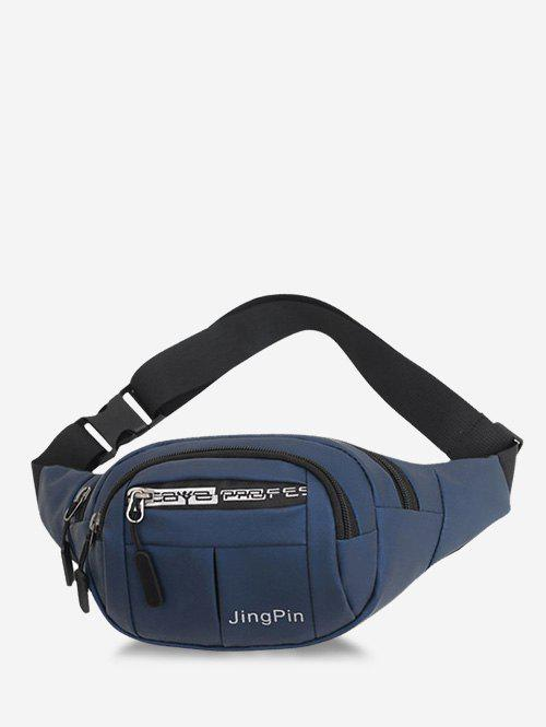 Affordable Multi Compartment Printed Waist Bag