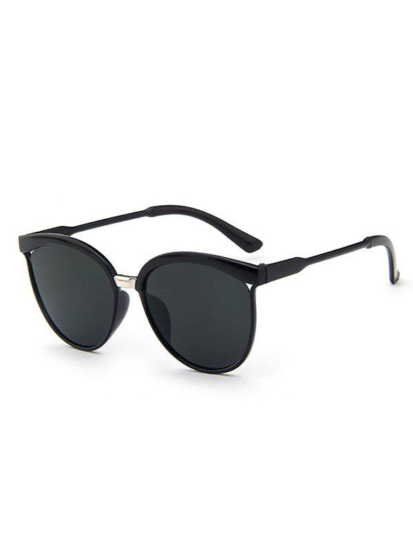 Outfit Retro UV Protection Round Hollow Sunglasses