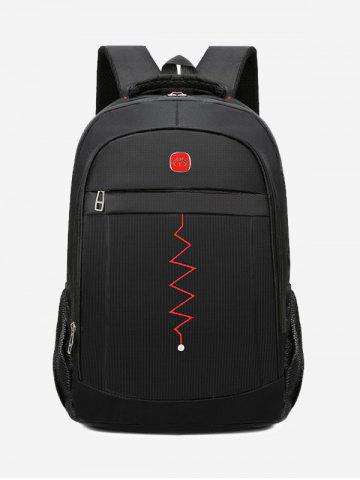 Multi-function Zigzag Pattern Notebook Travel Backpack