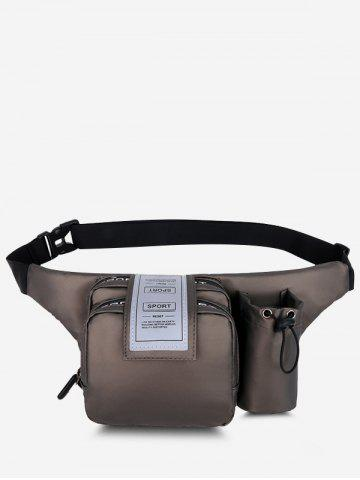 Pockets Multi-functional Letters Chest Bag
