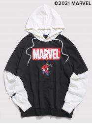 Marvel Spider-Man Faux Twinset Hoodie -