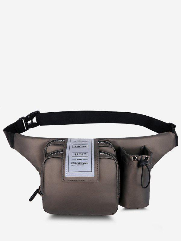 Affordable Pockets Multi-functional Letters Chest Bag