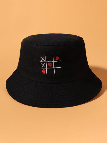 Heart Link Game Embroidered Bucket Hat