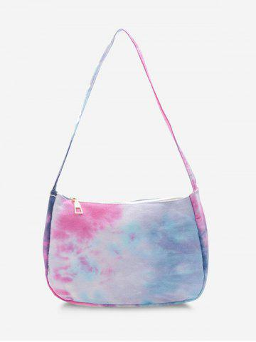Colorful Print Shoulder Bag