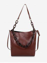 High Capacity Bucket Crossbody Bag -