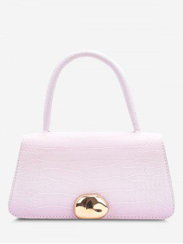 Ombre Embossed Dual Handle Crossbody Bag - BLOSSOM PINK