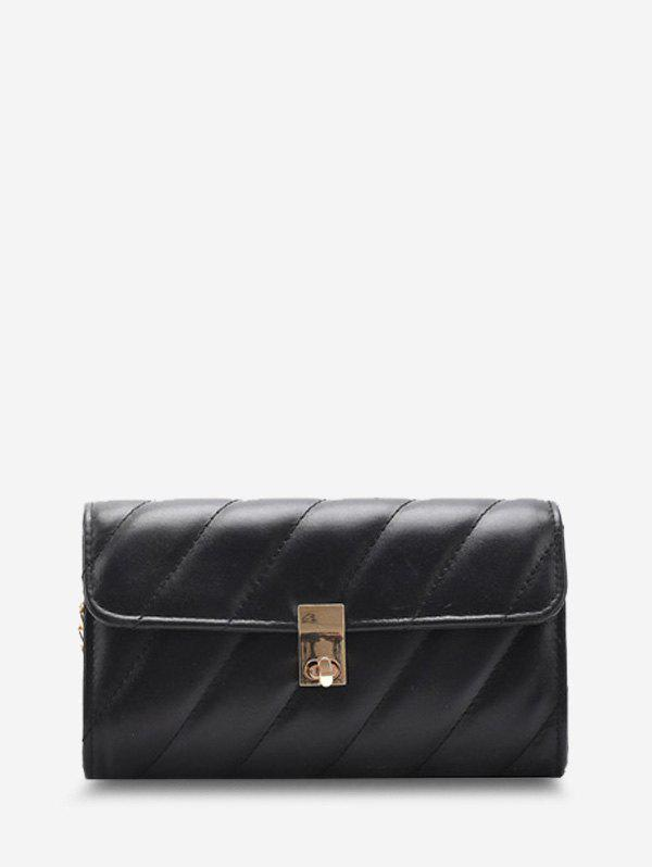 Sale Diagonal Quilted Chain Crossbody Bag