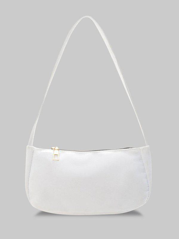 Chic Solid Rectangle Casual Shoulder Bag