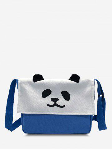 Panda Flap Square Crossbody Bag