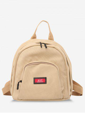Multi Compartment Canvas Casual Backpack