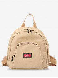 Multi Compartment Canvas Casual Backpack -