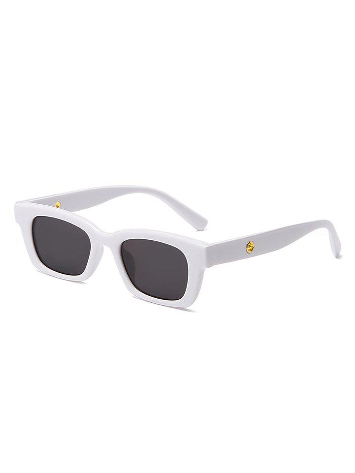 Online Rectangle Frame Wide Arm Sunglasses