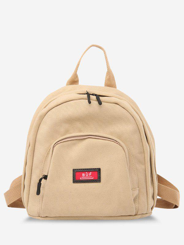 Cheap Multi Compartment Canvas Casual Backpack