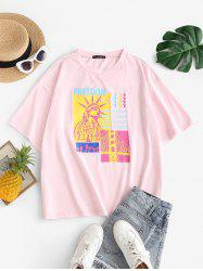 Plus Size Freedom Graphic T-shirt -