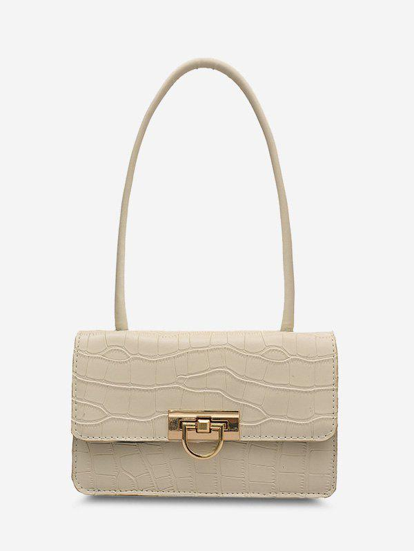 Outfit Animal Embossed Faux Leather Shoulder Bag