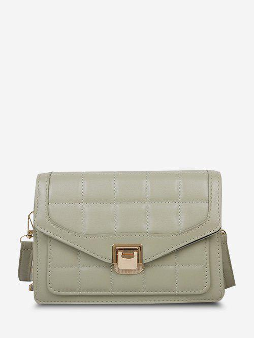 Online Quilted Double Strap Crossbody Bag