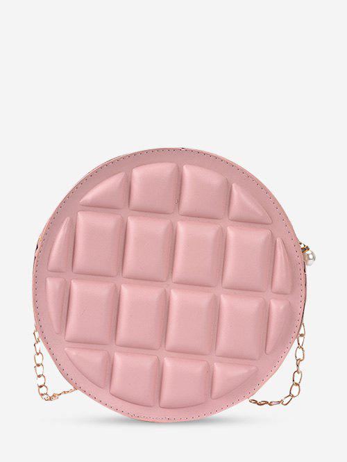 Shop Quilted Round Chain Crossbody Bag