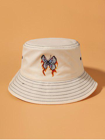 Butterfly Flame Printed Bucket Hat
