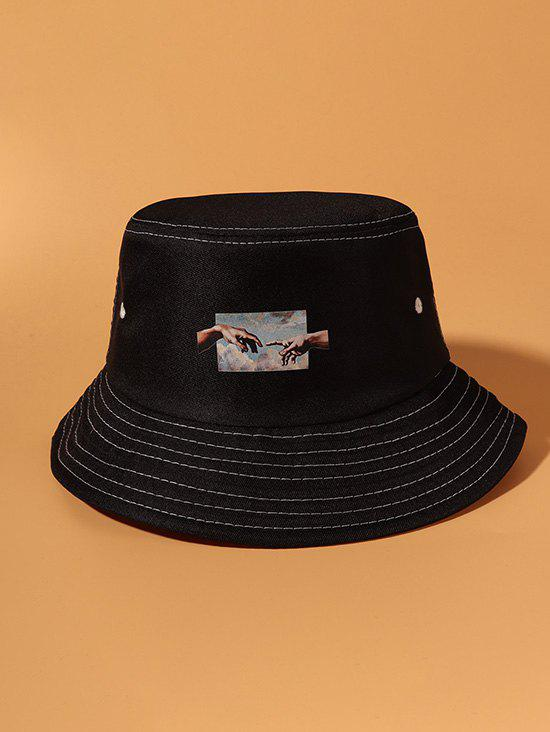 Outfits Hands Printed Bucket Hat