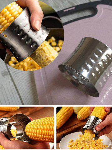 Stainless Steel Planing Corn Stripper - SILVER