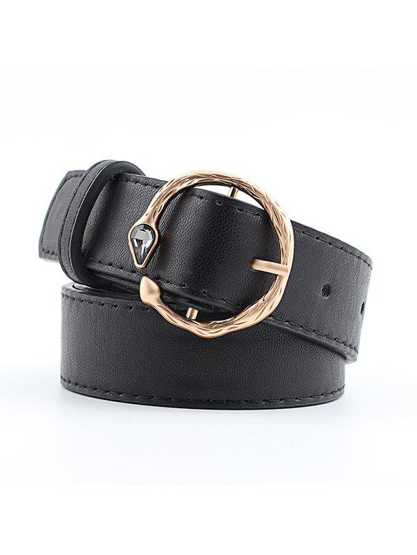 Outfits Faux Gemstone Snake Buckle Belt