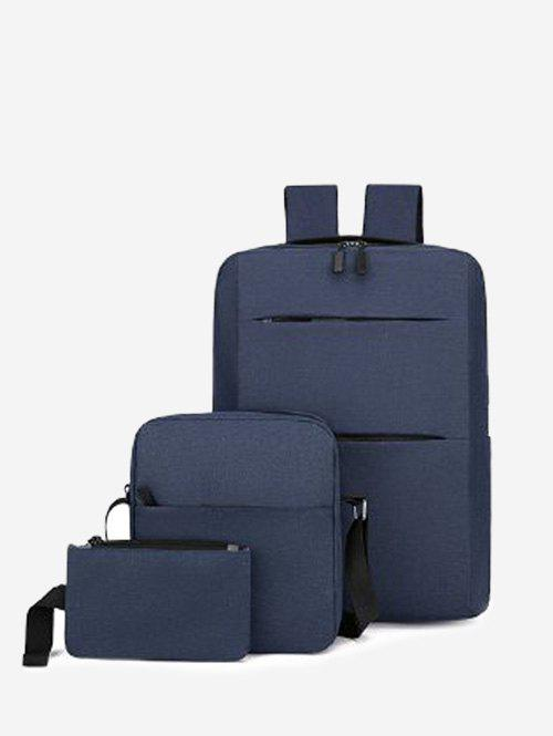 Sale Multi Compartment Backpack With Two Small Bag