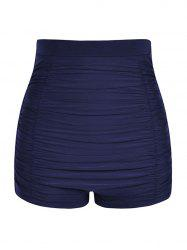 Plus Size Ruched Board Shorts -