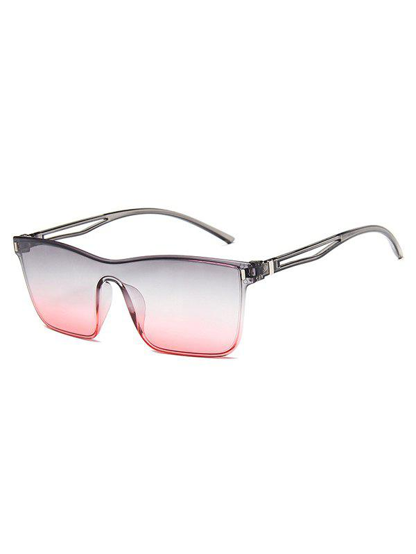 Affordable Square Frame Lightweight Gradient Sunglasses