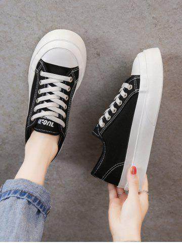 Lace-Up Thick Sole Sneakers