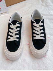 Lace-Up Low Top Sneakers -
