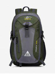 Travel Outdoor Colorblock Backpack -