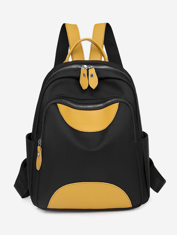 Buy Colorblock Double Compartment Backpack