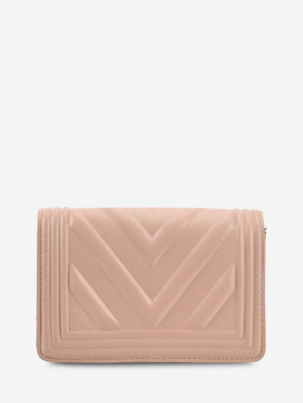 Affordable Chain Zigzag-Quilted Flap Crossbody Bag