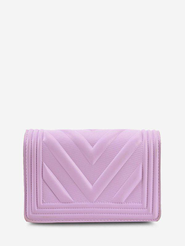 New Chain Zigzag-Quilted Flap Crossbody Bag