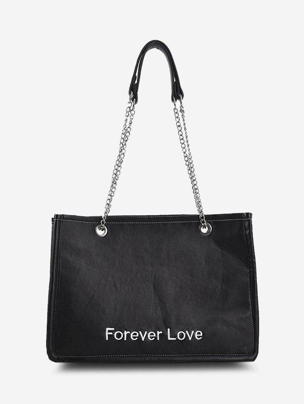 Buy Forever Love Embroidery Tote Bag