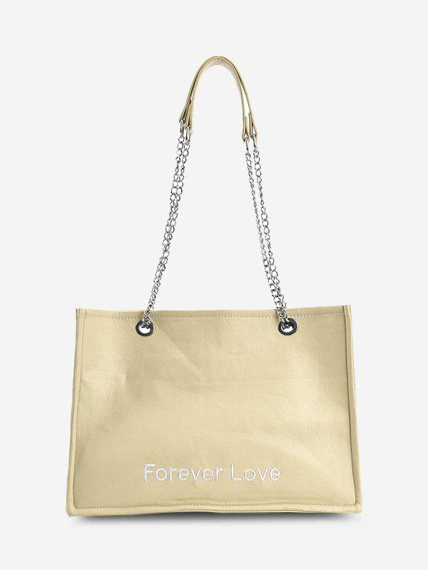 Best Forever Love Embroidery Tote Bag