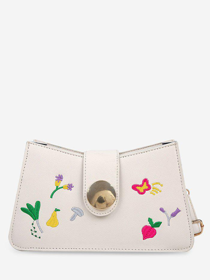 Best Embroidered Floral Butterfly Crossbody Bag