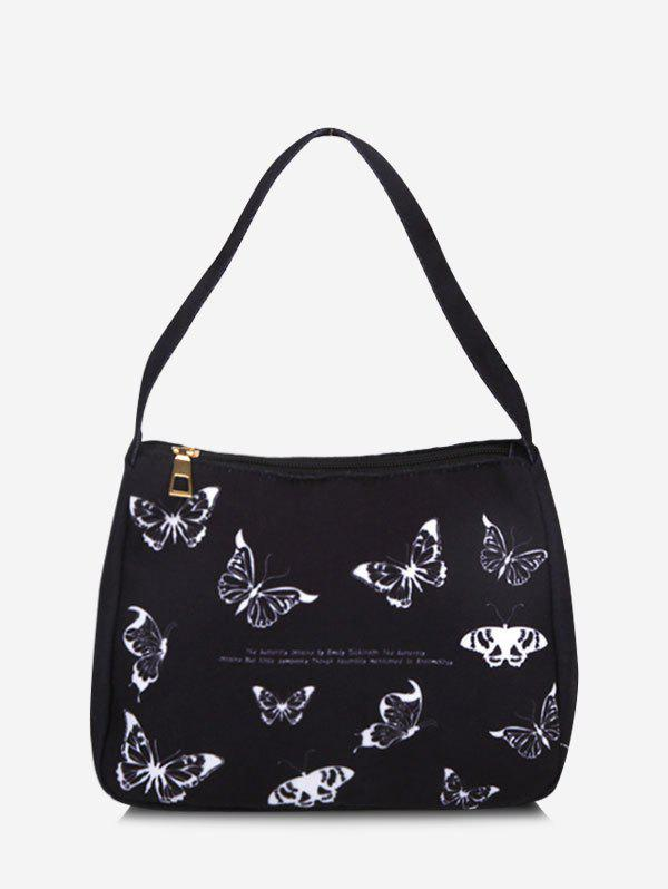 Shop Butterfly Print Tote Bag