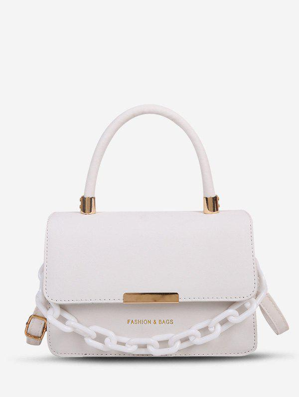Discount Letter Chain Tote Crossbody Bag