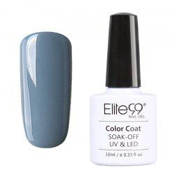 Elite99 10ml 12 Color Nail Art Polish Nail UV Lamp Necessary Gelpolish -