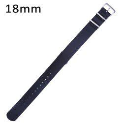 18MM Leather Watch Strap Pin Buckle Band -